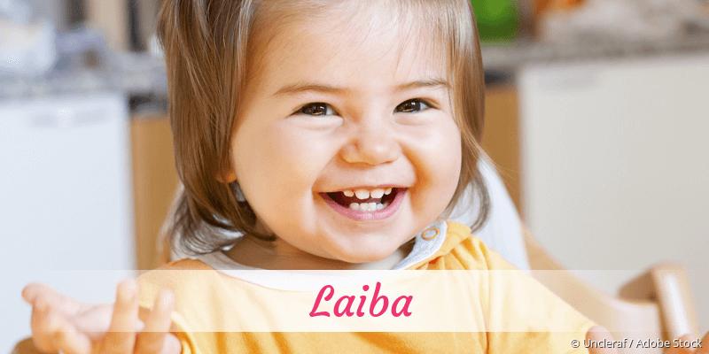 Name Laiba als Bild