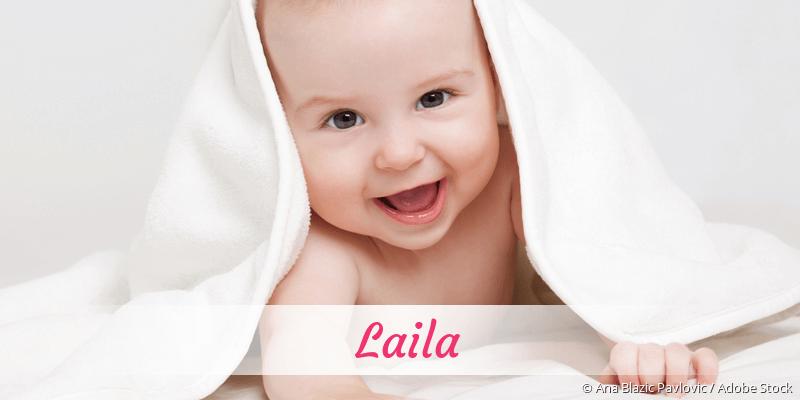 Name Laila als Bild