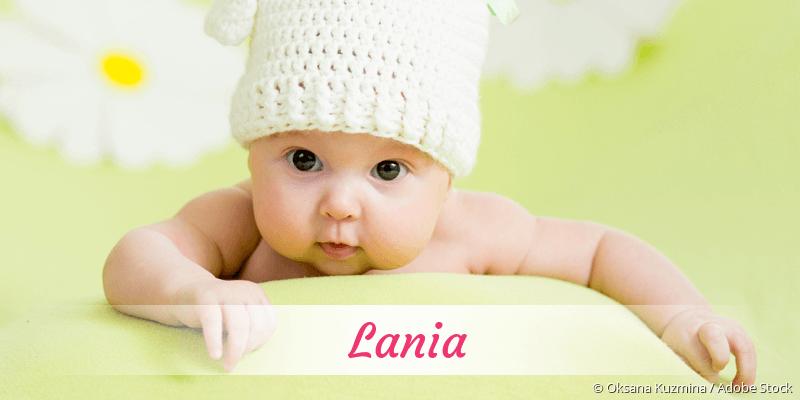 Name Lania als Bild