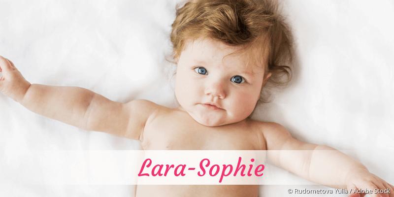 Name Lara-Sophie als Bild