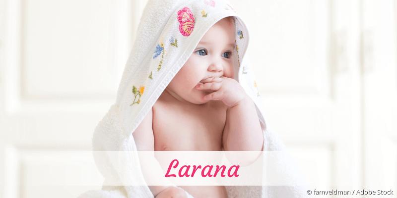 Name Larana als Bild
