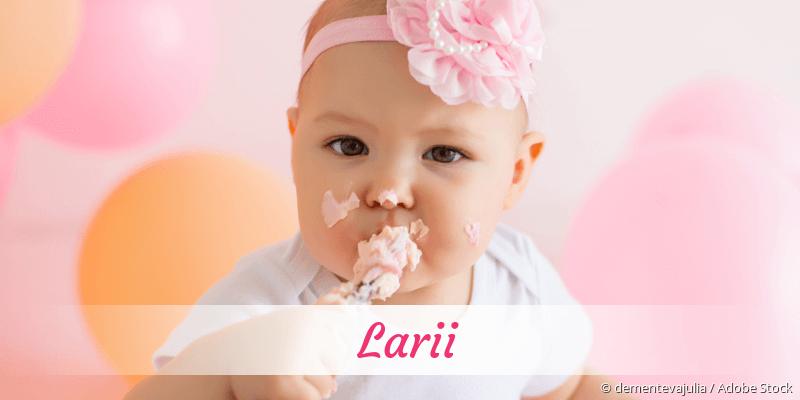 Name Larii als Bild