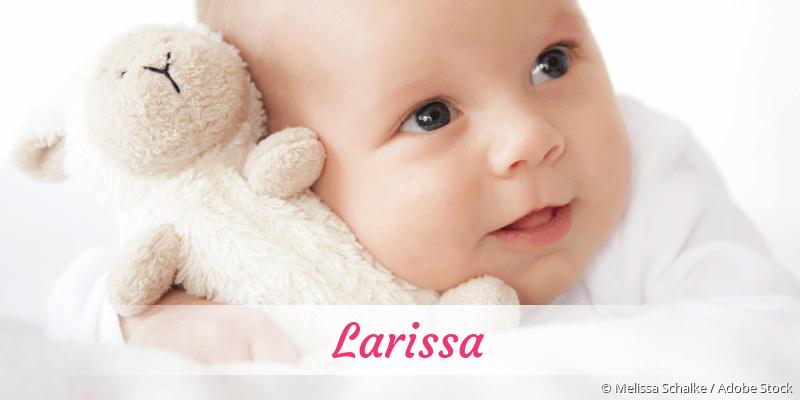 Name Larissa als Bild