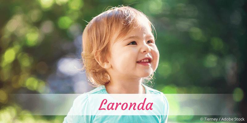 Name Laronda als Bild