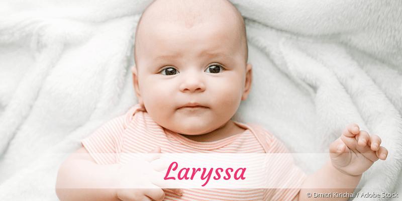 Name Laryssa als Bild