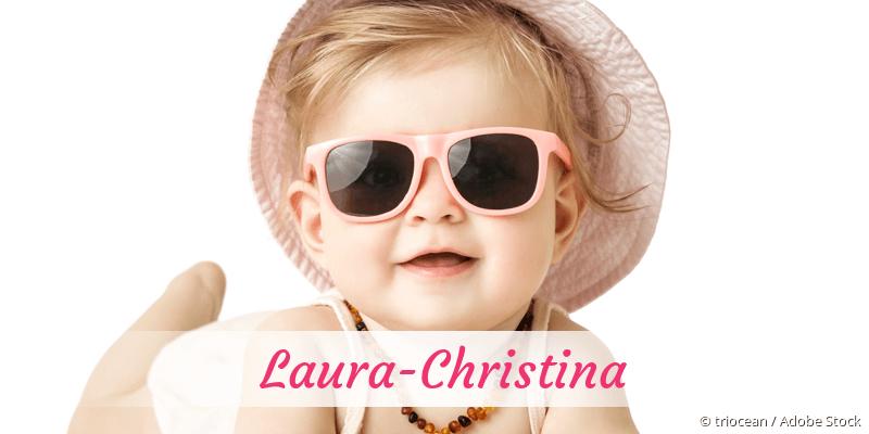 Name Laura-Christina als Bild