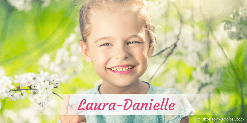 Name Laura-Danielle als Bild