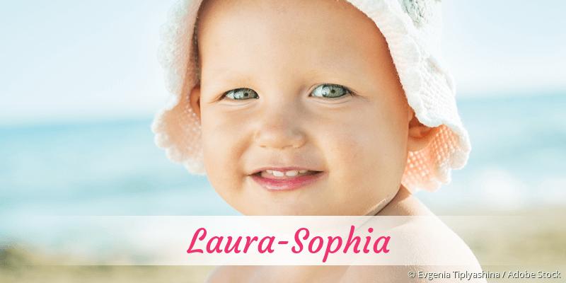 Name Laura-Sophia als Bild