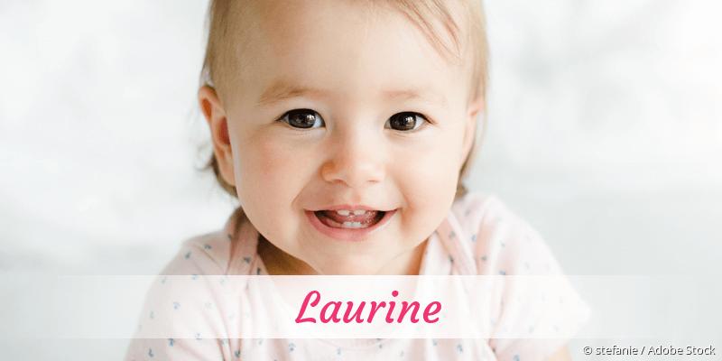 Name Laurine als Bild