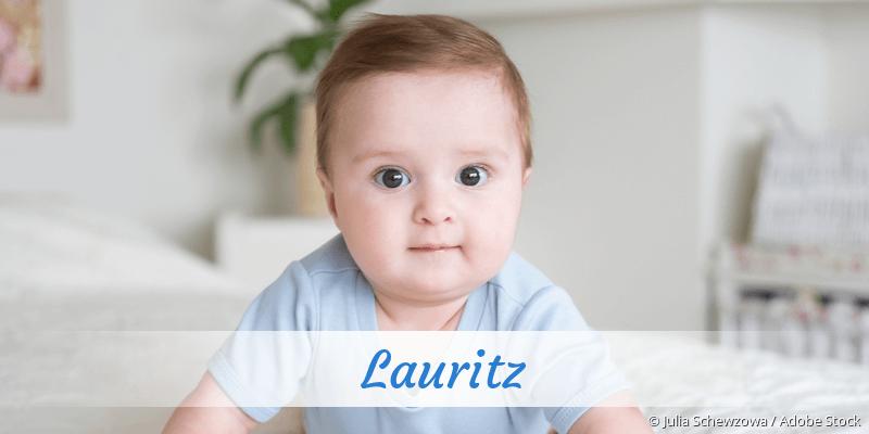 Name Lauritz als Bild