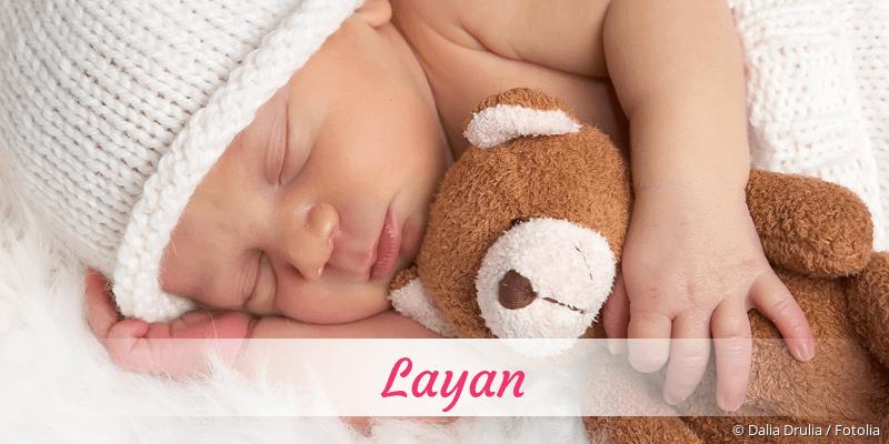 Name Layan als Bild