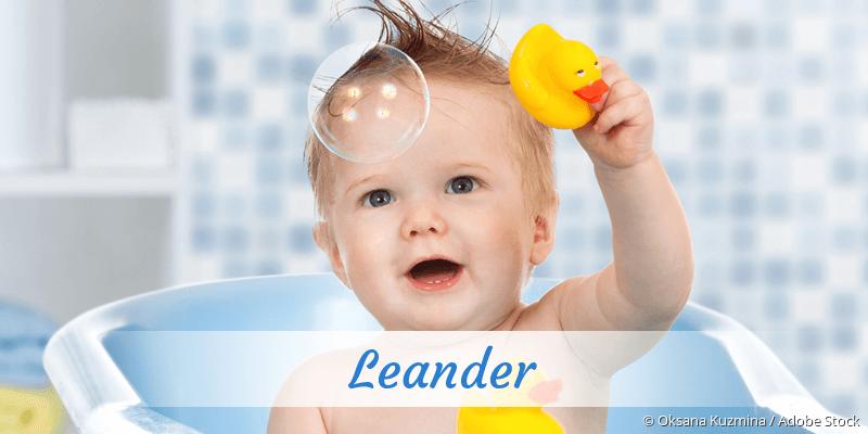 Name Leander als Bild