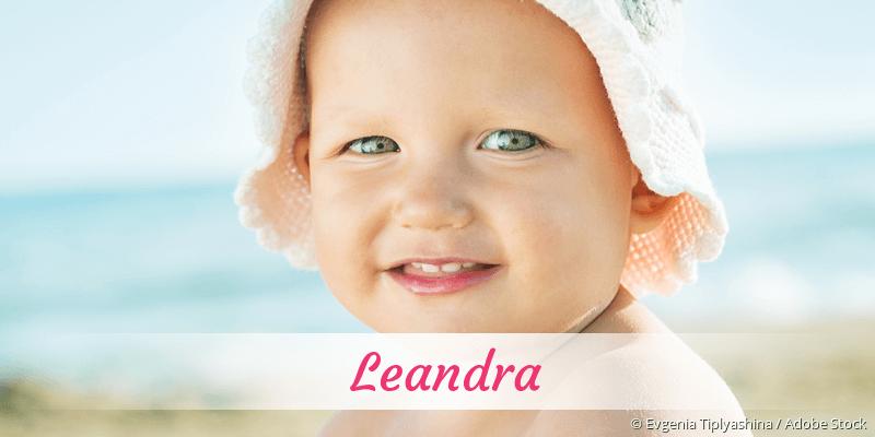 Name Leandra als Bild