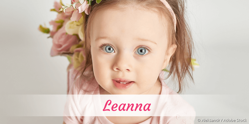 Name Leanna als Bild