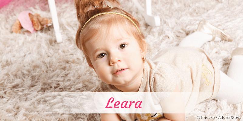 Name Leara als Bild
