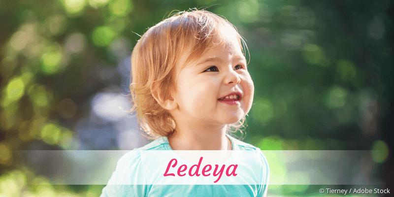 Name Ledeya als Bild