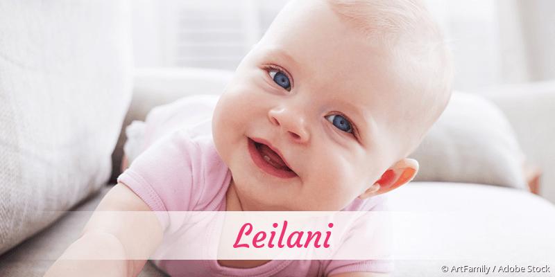 Name Leilani als Bild