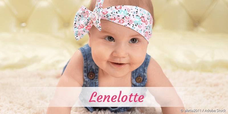 Name Lenelotte als Bild