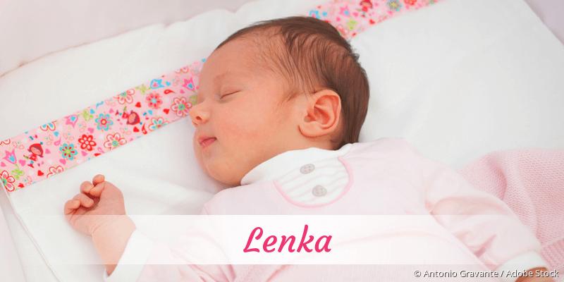 Name Lenka als Bild