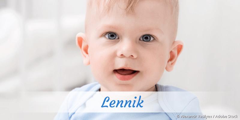 Name Lennik als Bild