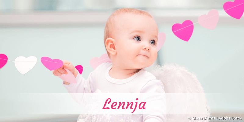 Name Lennja als Bild