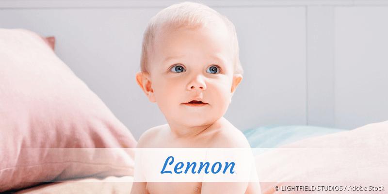 Name Lennon als Bild