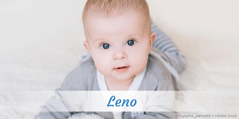 Name Leno als Bild
