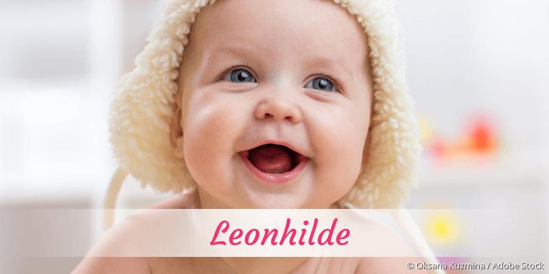 Name Leonhilde als Bild
