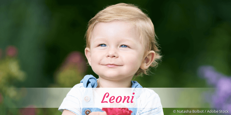 Name Leoni als Bild