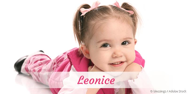 Name Leonice als Bild