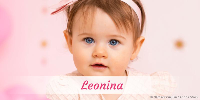 Name Leonina als Bild