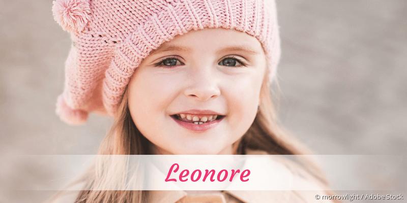 Name Leonore als Bild