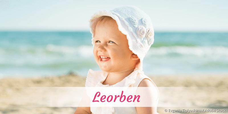 Name Leorben als Bild