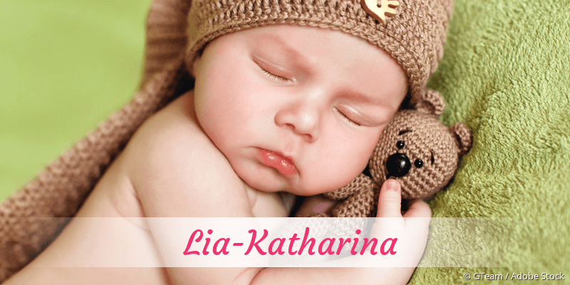 Name Lia-Katharina als Bild