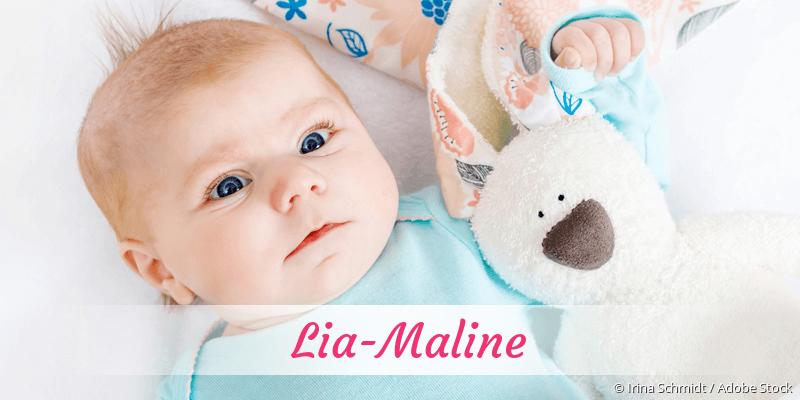 Name Lia-Maline als Bild