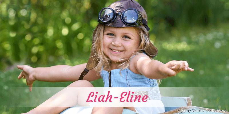 Name Liah-Eline als Bild