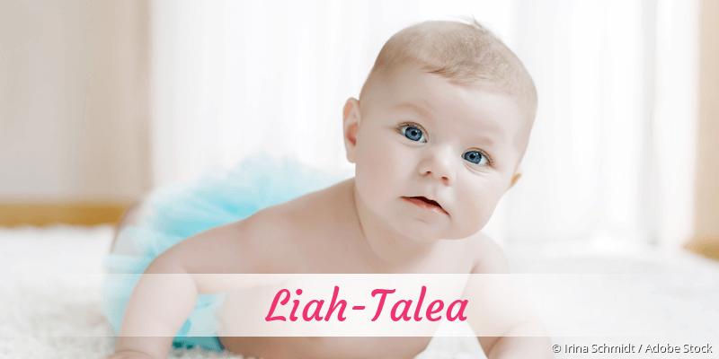 Name Liah-Talea als Bild