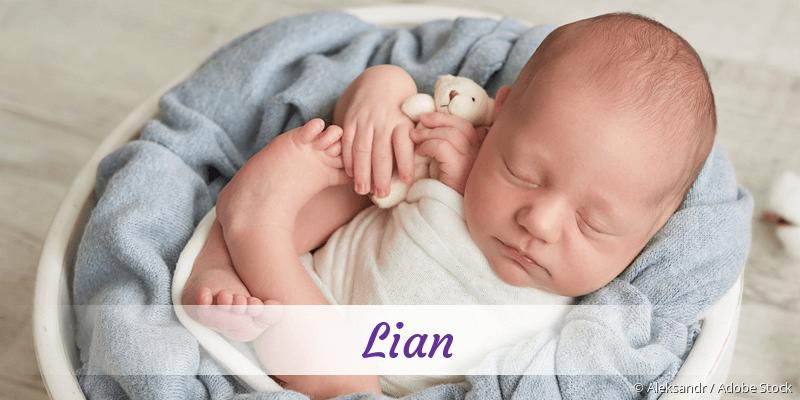 Name Lian als Bild