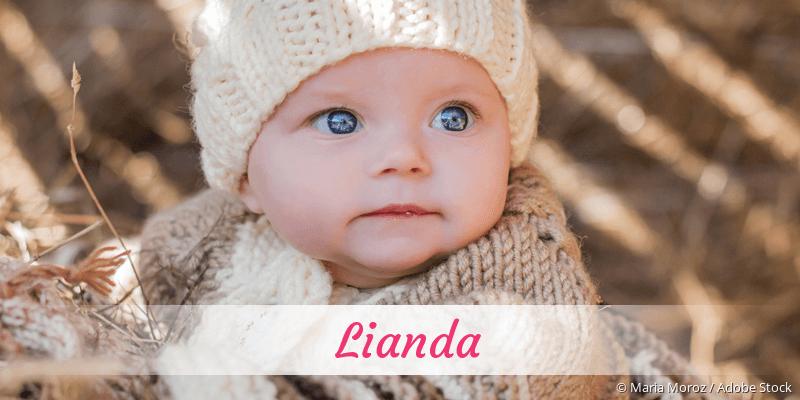 Name Lianda als Bild