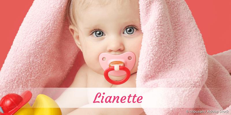 Name Lianette als Bild