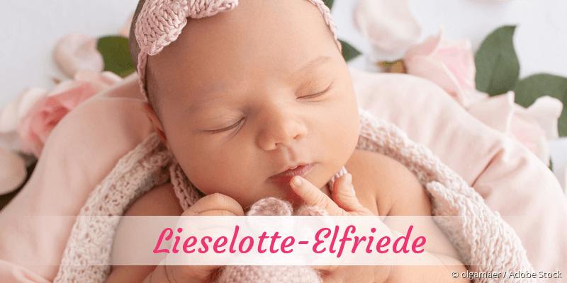 Name Lieselotte-Elfriede als Bild
