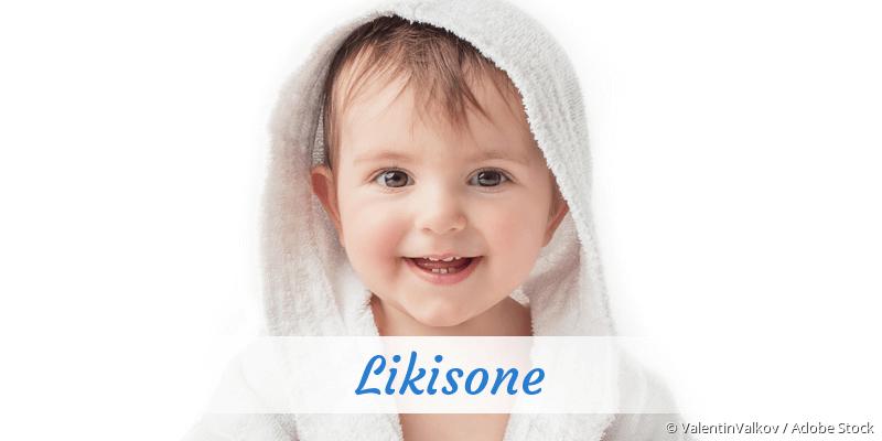 Name Likisone als Bild