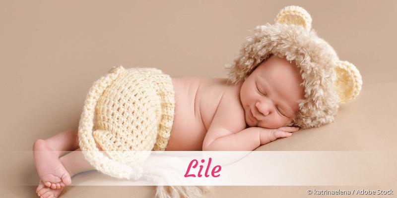Name Lile als Bild