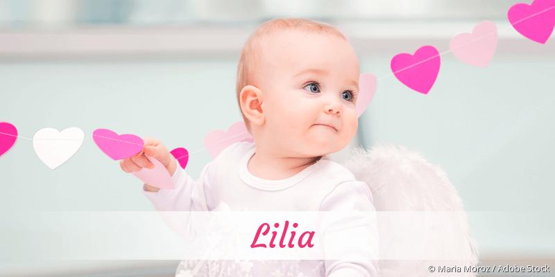 Name Lilia als Bild