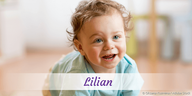 Name Lilian als Bild