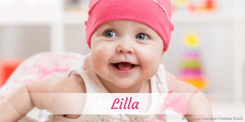 Name Lilla als Bild