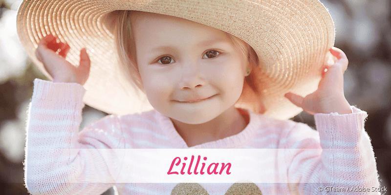 Name Lillian als Bild
