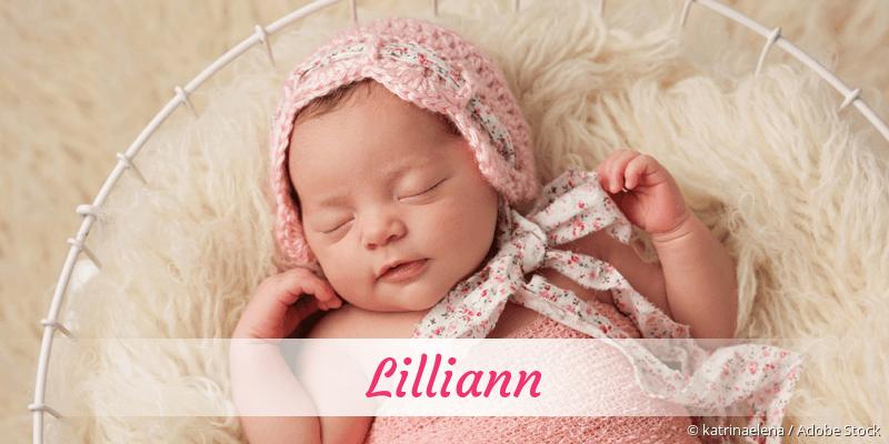 Name Lilliann als Bild