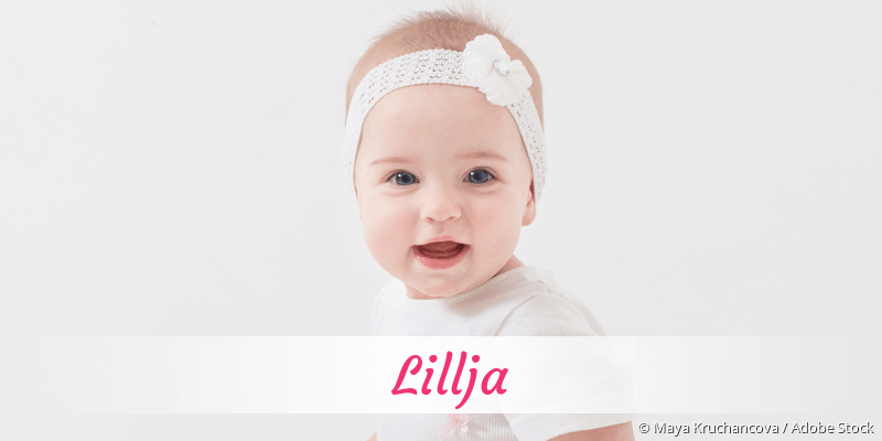 Name Lillja als Bild