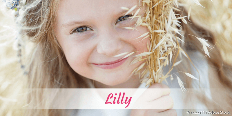 Name Lilly als Bild
